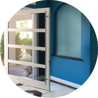 Marvin Signature Coastline Pivot Door